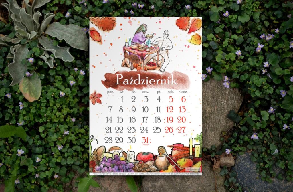 Słowiański Kalendarz na Październik 2019